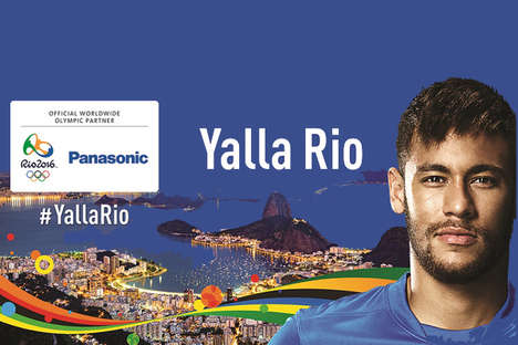 Electronic Brand Olympic Campaigns - The Panasonic #YallaRio Contest will Send Raffle Winners to Rio
