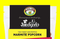 Marmite-Flavored Popcorn - Joe & Seph's Flavored Gourmet Popcorn Blends Sweet and Salty Tastes