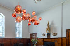 Co-Working Church Spaces - Tom Dixon Created a Shared Workspace for a Church
