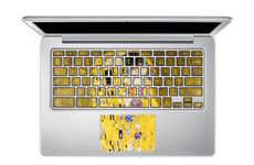 Artistic Keyboard Stickers