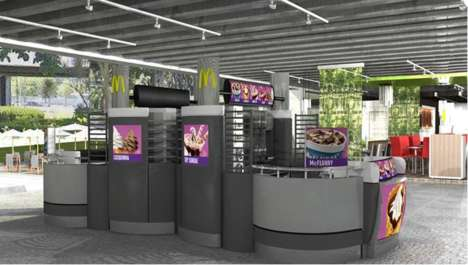 Branded Olympic Dessert Bars - McDonald's is Set to Open a Dessert Kiosk in the Rio Olympic Village