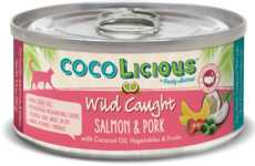 Coconut Cat Food Cans - Party Animal's COCOLICIOUS Range is Enriched with Healthy Coconut Oil