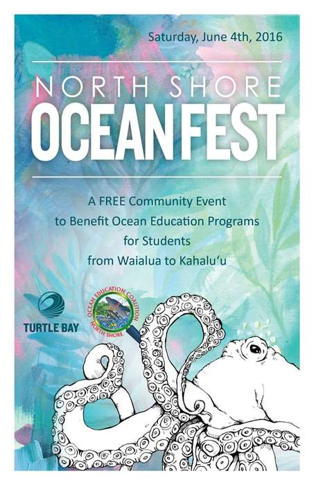 Aquatic Education Festivals - The North Shore Ocean Fest Celebrates World Oceans Day
