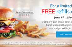 Bottomless French Fry Promotions - IHOP is Offering Free French Fry Refills Along with Its Burgers
