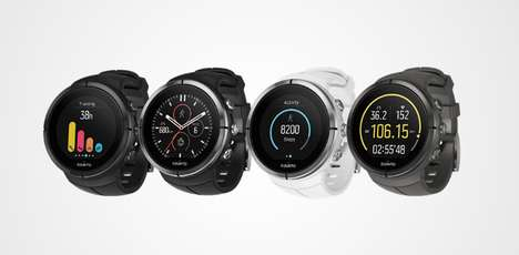 Fitness-Logging Sport Watches - The Suunto Spartan Ultra GPS Watch is Ready for Workouts and More