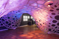 Knitted Textile Pavilions