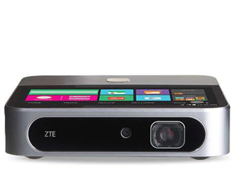 Telecom-Connected Multimedia Projectors