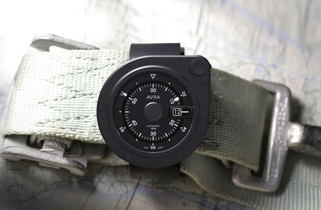 Modular Analog Watches - The Avra 1-Hundred Timepiece Blends Vintage and Modern Elements