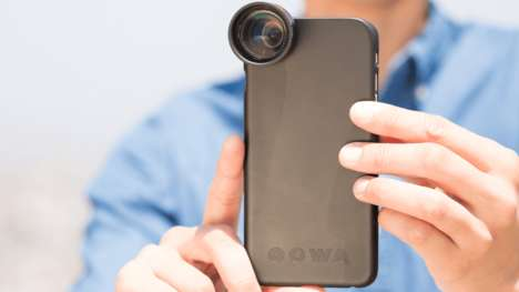 Cellular Free-Form Lenses - The Oowa Camera Lenses Provide Smartphones into DSLR Capabilities