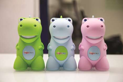 Intuitive Dinosaur Toys - The CogniToys Dino Combines Fun and Learning in a High-Tech Way
