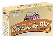 Canine Cheesecake Kits - These Grain-Free Cakes for Dogs Come in a Decadent Form