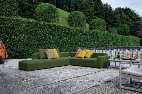 Versatile Outdoor Sofas - The 'Dandy Sofa' Provides Modular Outdoor Seating