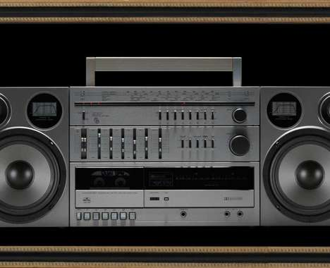 Functional Boombox Posters