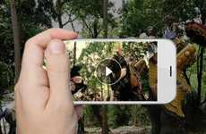 Augmented Reality Travel Apps - The 'See Thru Thailand' App Uses VR Content to Promote Tourism