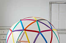 Geometric Dome Playhouses