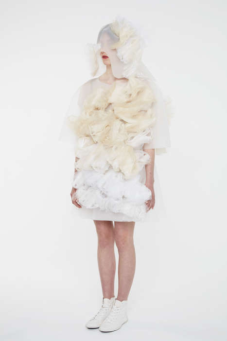 Emotion-Detecting Dresses - Ying Gao's Couture Garments Can Decode the Wearer's Feelings