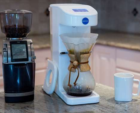 Automated Pour-Over Coffee Makers