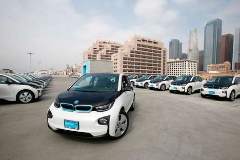 Electric Law Enforcement Vehicles - The Los Angeles Police Department Will Receive 100 BMW i3s