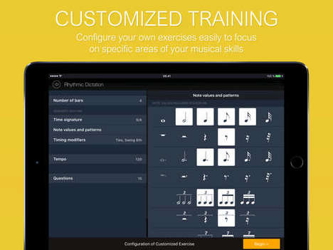 Ear Training Apps - The EarMaster App Helps Music Students Improve Their Ear Training and Rhythm