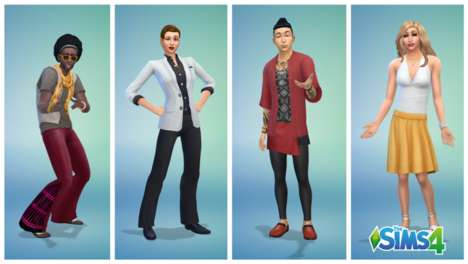 Identity Inclusive Games - The Sims 4 Update Diversified the Game's Gender Options