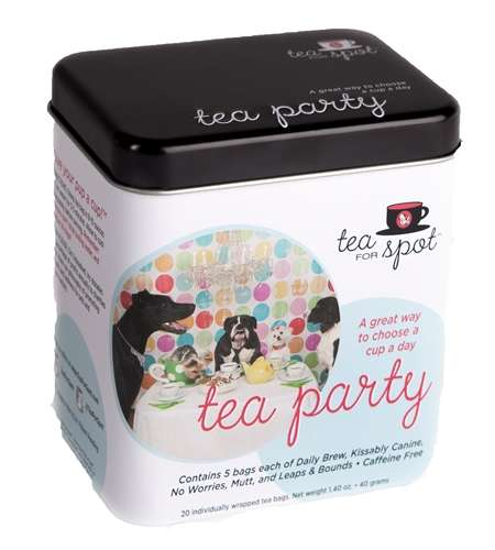 Dog-Friendly Teas - Puppy Cake Makes Organic Herbal Tea for Dogs
