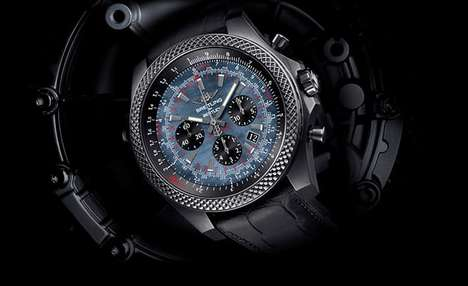 Dusky Luxury Watches - The B06 Midnight Carbon Watch Features a Gorgeous Carbon Finish