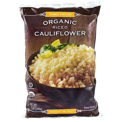 Cauliflour Rice Mixes - Trader Joe's Riced Cauliflower is a Gluten-free, Grain-Free Alternative