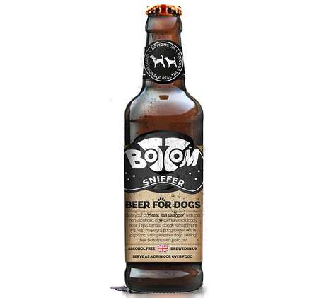 Dog-Friendly Brews - Woof & Brew's 'Bottom Sniffer' is a Special Non-Alcoholic Beer for Dogs
