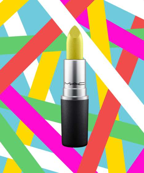 Kaleidoscope Colored Make-Up Lines - MAC's Bangin' Brilliant Collection Features Outrageous Hues