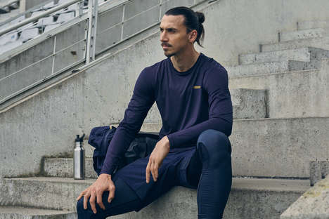 Adaptable Athlete-Made Sportswear - Zlatan Ibrahimovic Created His Own Brand of Quality Sportswear