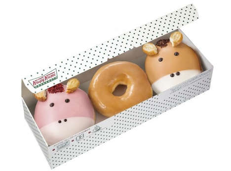 Horse-Shaped Donuts - Krispy Kreme Japan's Newest Shaped Donuts Celebrate Horse Races in Hyogo