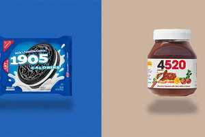 The 'Calorie Brands' Edits Foods to Show its Nutritional Content