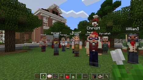 Classroom Collaboration Video Games - Minecraft: Education Edition Offers Educators a Fun Resource