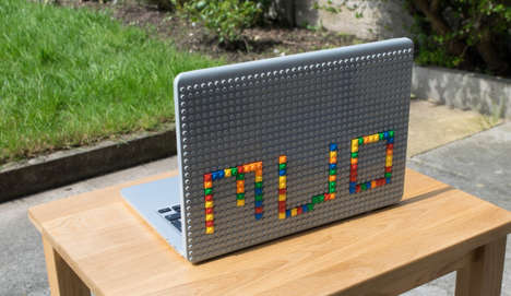 LEGO Laptop Covers - 'BrikBook' Allows People to Customize Their MacBooks With Legos