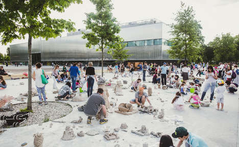 Interactive Clay Installations - This Artistic Installation Allows Viewers to Play with Clay