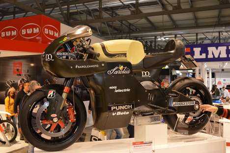 Turbocharged Electric Superbikes - The SP7 Bike Will Compete At the SES TT Zero Race