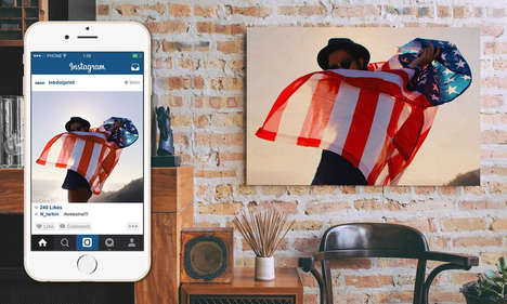 40 Social Media Photo Applications - From Illuminated Photo Cubes to Personalized Swim Shorts