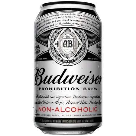 Alcohol-Free Brews - Budweiser's 'Prohibition Brew' is the Brand's First Non-Alcoholic Beer