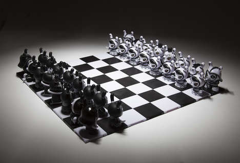 Collectible Chess Sets - These Toys Can be Collected to Form a Chess Set