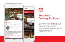 Ethnic Restaurant-Finding Apps - The 'Ethnic Eats' App Connects Users to Nearby Eateries