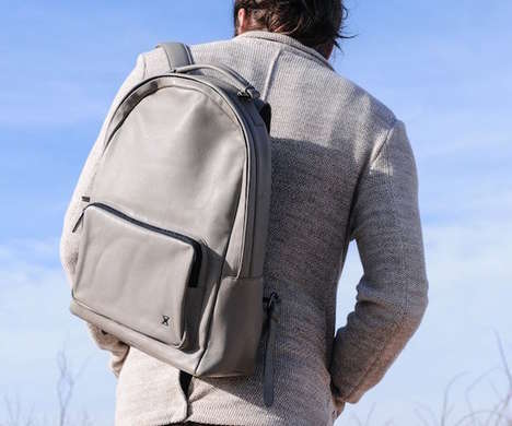 Padded Compartment Backpacks - The Terracomo Archer Backpack is Designed for Functional Airflow