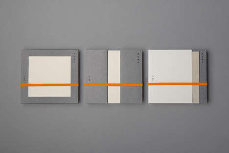 Understated Album Packaging - Trilingua Design's CD Packaging Embodies a Minimalist Design Style