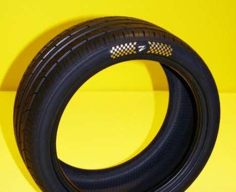 Diamond-Encrusted Tires