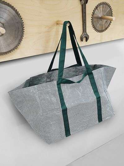 Redesigned Carrier Bags - The Ikea Shopping Bag Gets an Updated Look for a Higher-End Feel