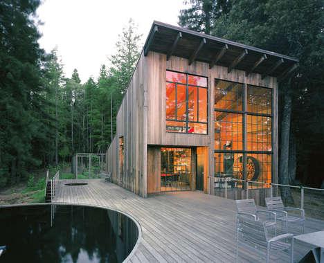 Reclaimed Redwood Homes