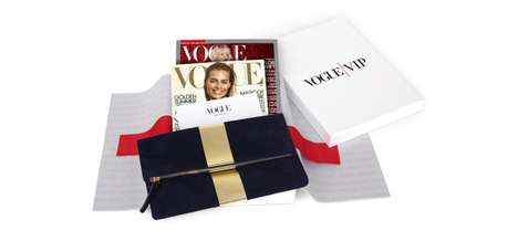 VIP Magazine Subscriptions - 'Vogue VIP' Introduces Members-Only Special-Edition Kits