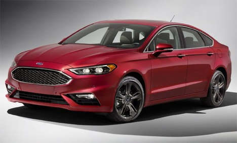 Sporty Family Cars - The Ford Fusion Sport Blends Sport and Family-Focused Features