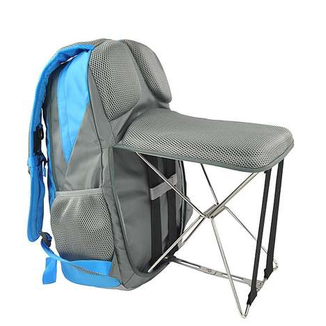 Backpack-Chair Hybrids - This Fold-Out Backpack Can Convert Into a Small Chair