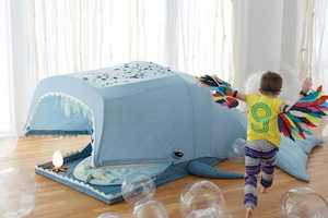 This Giant Whale Playhouse from Land of Nod Encourages Imagination