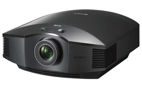 3D Entertainment Projectors - The Sony Full HD 3D Home Theater Projector Offers Enhanced Technology